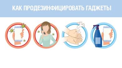 О дезинфекции мобильных устройств